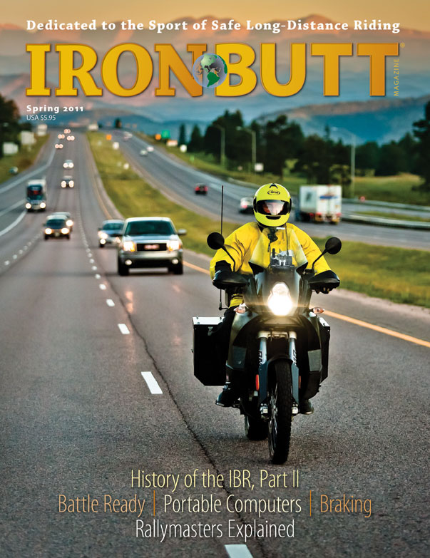 Forside Iron Butt Magazine