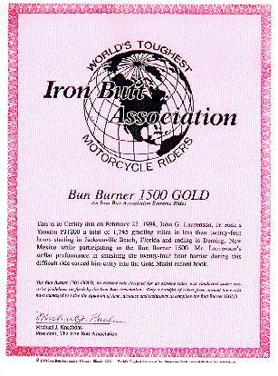 BBG Certificate